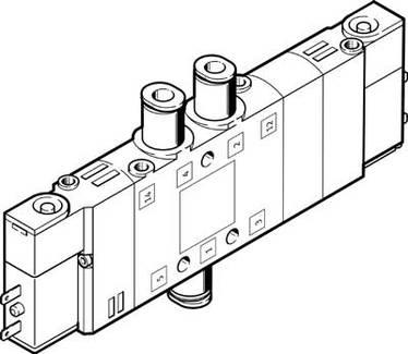 3e Qs 6 196899 Solenoid Valve Ot Festo010035