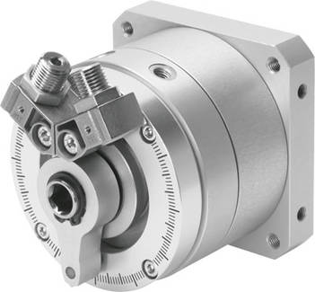 rotary actuators with swivel wings - Landefeld - Pneumatics