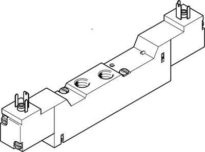 FESTO MEBH-5//2-5,0-S-B-110AC SOLENOID VALVE