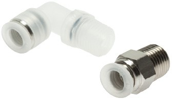 IQS push-in fittings - PP (4 - 12 mm)