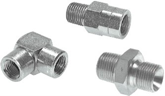 NPT adapters - screw connections