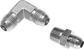 JIC-UNF-UN adapter - screw connections