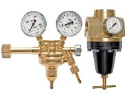 High-pressure regulator - High-pressure filter - High pressure oiler