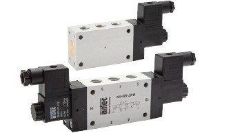 Solenoid valves (5/2 and 5/3-way)
