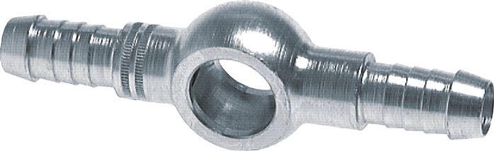 Double ring hose nipple, DIN 7642