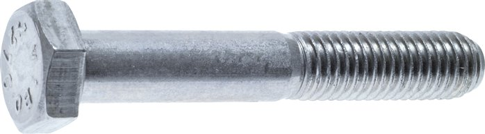 Hexagonal screws with shaft , DIN 931 / ISO 4014