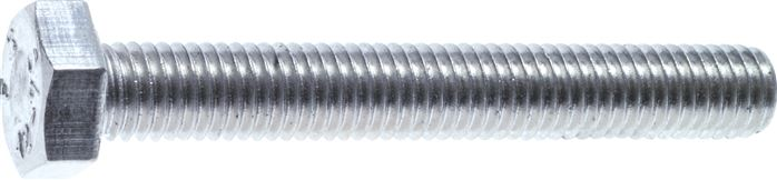 Hexagonal screws, thread to approximate head, DIN 933 / ISO 4017