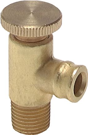 Drain valves and venting valves with nozzle, PN 25