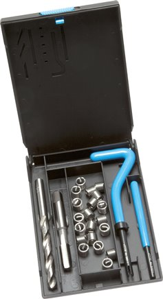 Thread repair kits for metric and imperial thread, DIN 8140