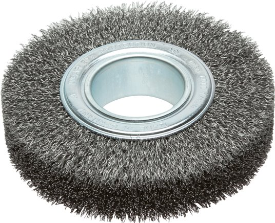 Round brushes with location hole, 50 mm