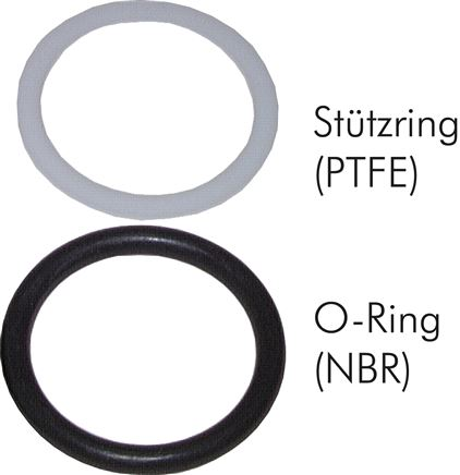 Replacement seals for plug-in couplings, ISO 7241-1 A