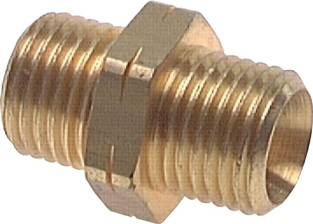Double nipple with right-hand / left-hand thread, PN 16