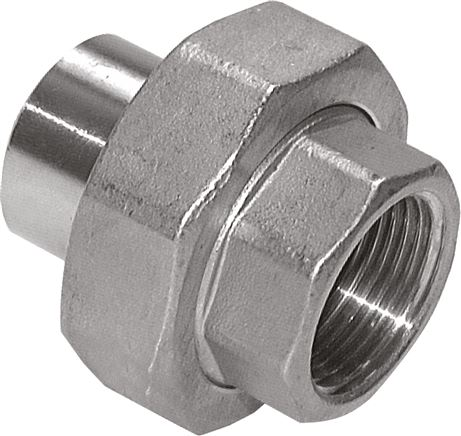 Screw connections with welded on and female thread - conical seal, PN 16