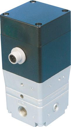 Proportional pressure regulator for pipe installation and cabinet assembly