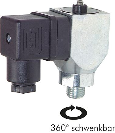 Pressure switches - can be turned 360°, up to 200 bar