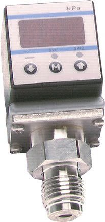 Electronic pressure switches compact type, up to 10 bar