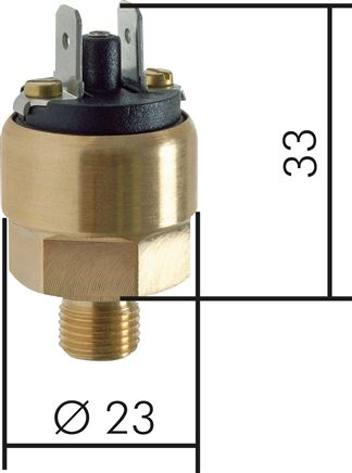 Pressure switches - small design, up to 10 bar