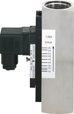 Viscosity compensated flow monitors, up to 350 bar
