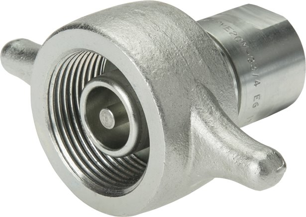 Vehicle screw couplings with female threads, up to 350 bar