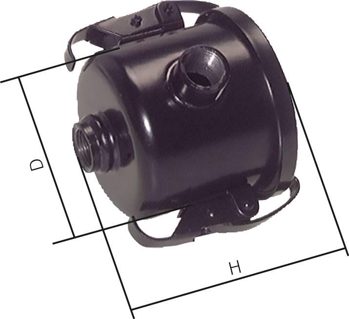 Vacuum filter G 3/8