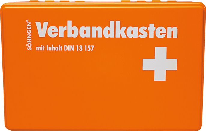 First Aid kit, especially good value, DIN 13157 / DIN 13169