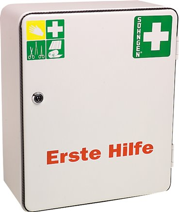 First Aid boxes, DIN 13157 / DIN 13169