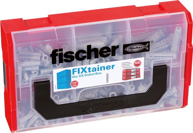 FIXtainer boxes (assortments and empty boxes), FISCHER