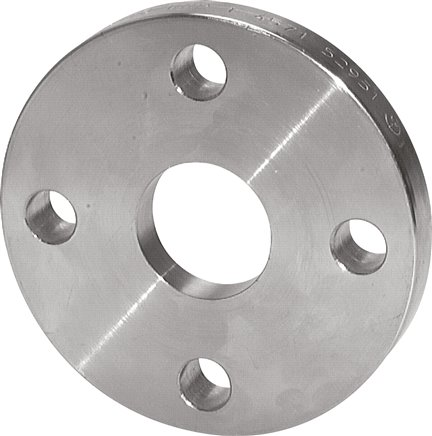 Loose flanges DIN 2642 for welding flared disks, PN 10