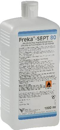 Hand disinfectant (food industry), Freka-SEPT 80