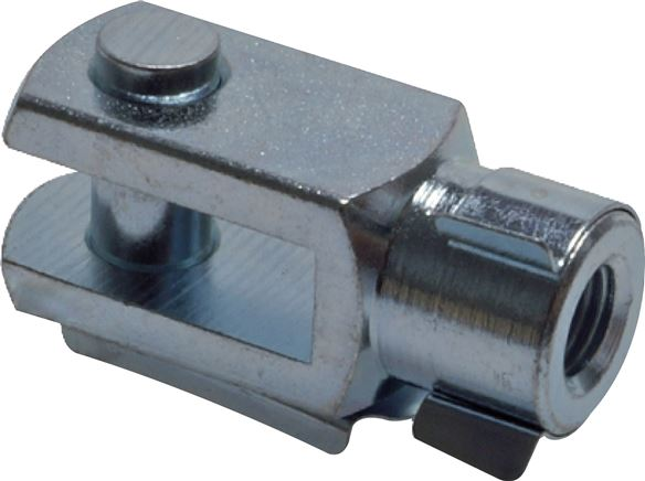 Swivel heads with bolts, for direct assembly cylinders EU