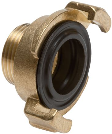 Garden hose - Quick couplings with male thread, 40 mm