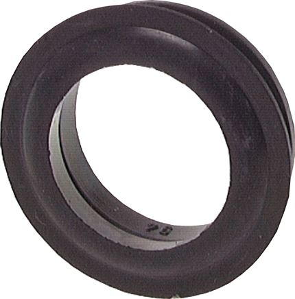 Seals for garden hose quick couplings, 40 mm
