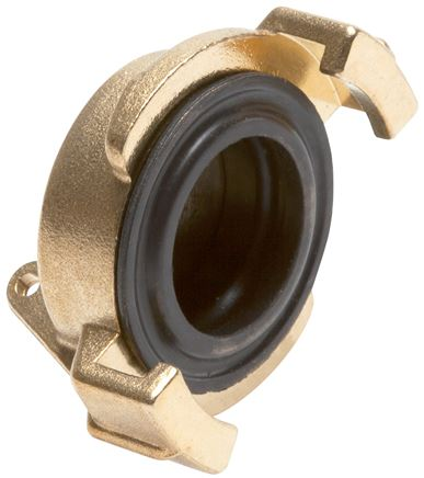 End caps for garden hose-quick couplings, 40 mm