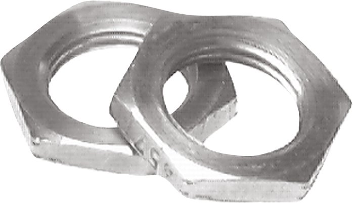 Cylinder head fastening nuts, for cylinders ISO 6431