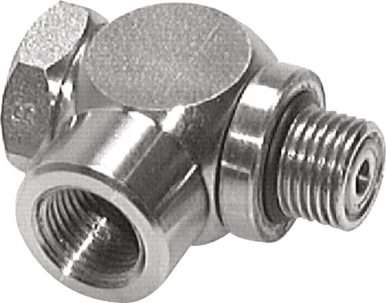 Throttles & one-way control valves (stainless steel), female threads