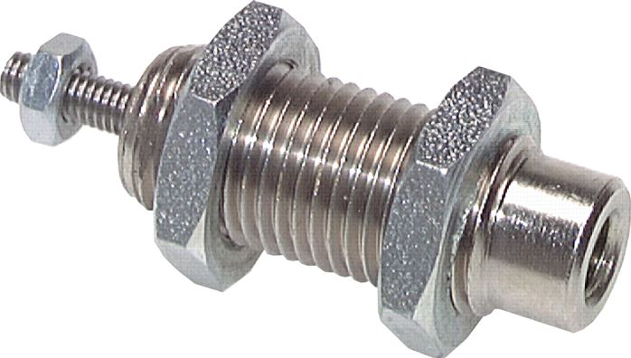 Single-acting screw-in cylinder