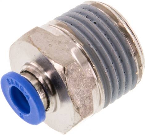 "Straight push-in fitting R 1/2""mm-6mm, IQS standard (IQSG 126)"