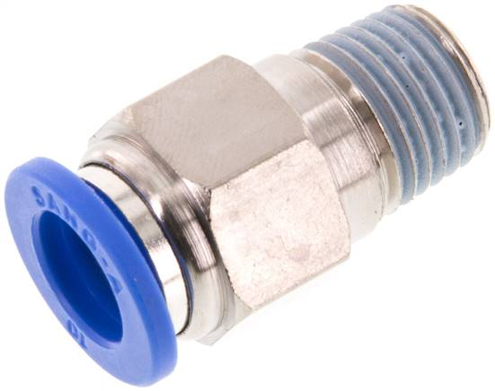 "Straight push-in fitting R 1/4""mm-10mm, IQS standard (IQSG 1410)"