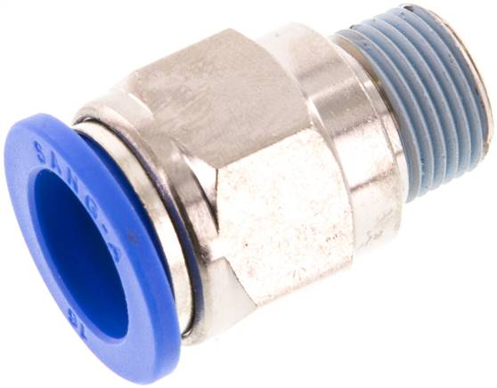 "Straight push-in fitting R 3/8""mm-16mm, IQS standard (IQSG 3816)"