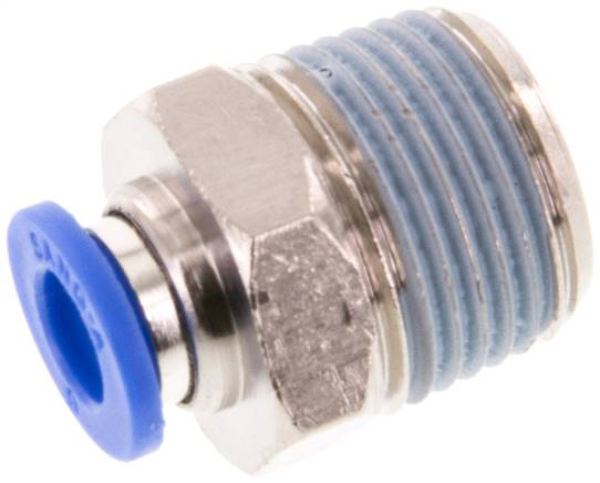 "Straight push-in fitting R 3/8""mm-6mm, IQS standard (IQSG 386)"