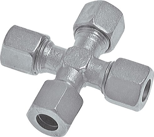 Cross screw connections