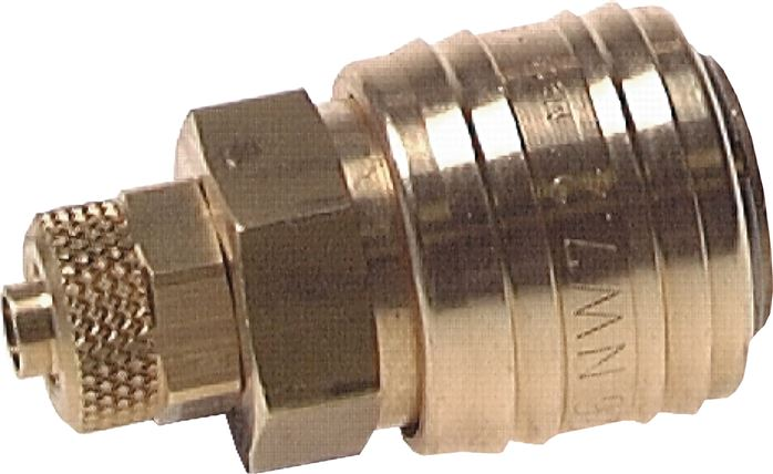 Coupling sockets With Locking nut, NW 7.2
