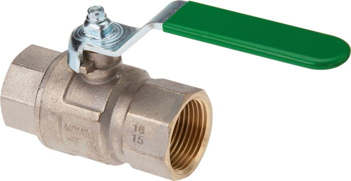 Ball valves for drinking water DVGW & KTW approved, EN 13828, up to 50 bar