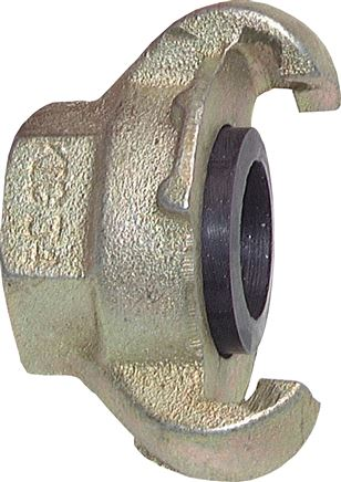 compressor couplings With female thread (similar to DIN 3489), 42 mm