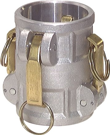 Quick coupling connector for plugs, PN 16