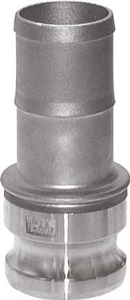 Quick action chuck with hose screw connection, type E
