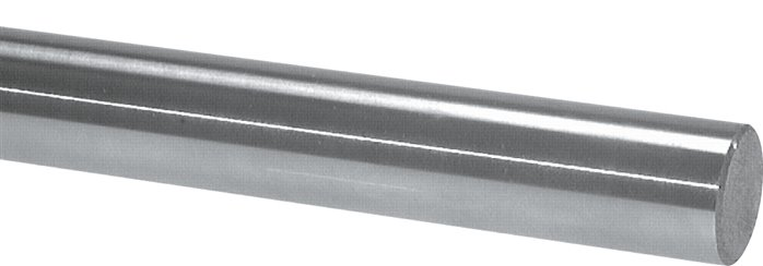 Piston rod materials for hydraulic and pneumatic cylinders