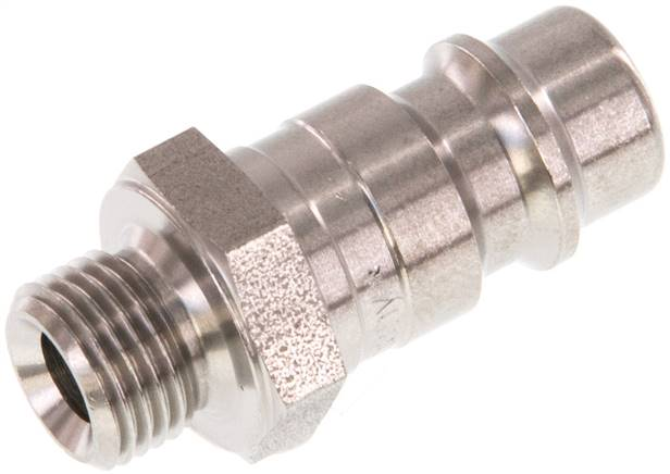 "Coupling plug (NW7,2) G 1/8""(male thread), Stainless steel (KSG 18 NW7 ES)"
