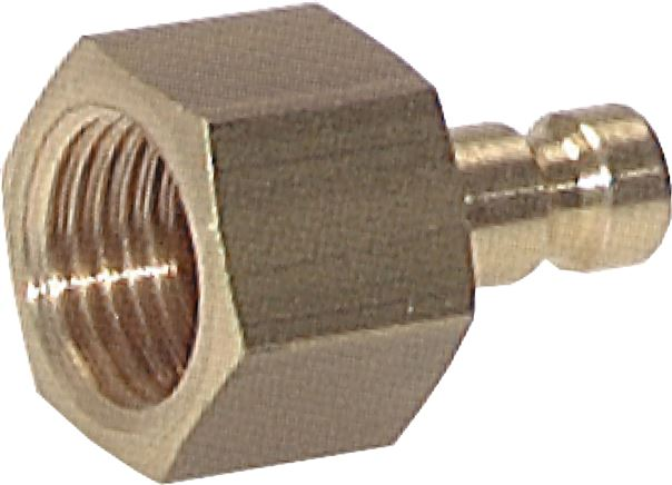 Coupling plugs with female thread, NW 2,7