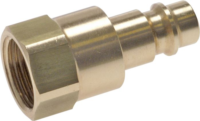 Safety coupling plugs with female thread, NW 7,2